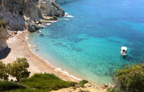 Vroulidia beach Sifnos