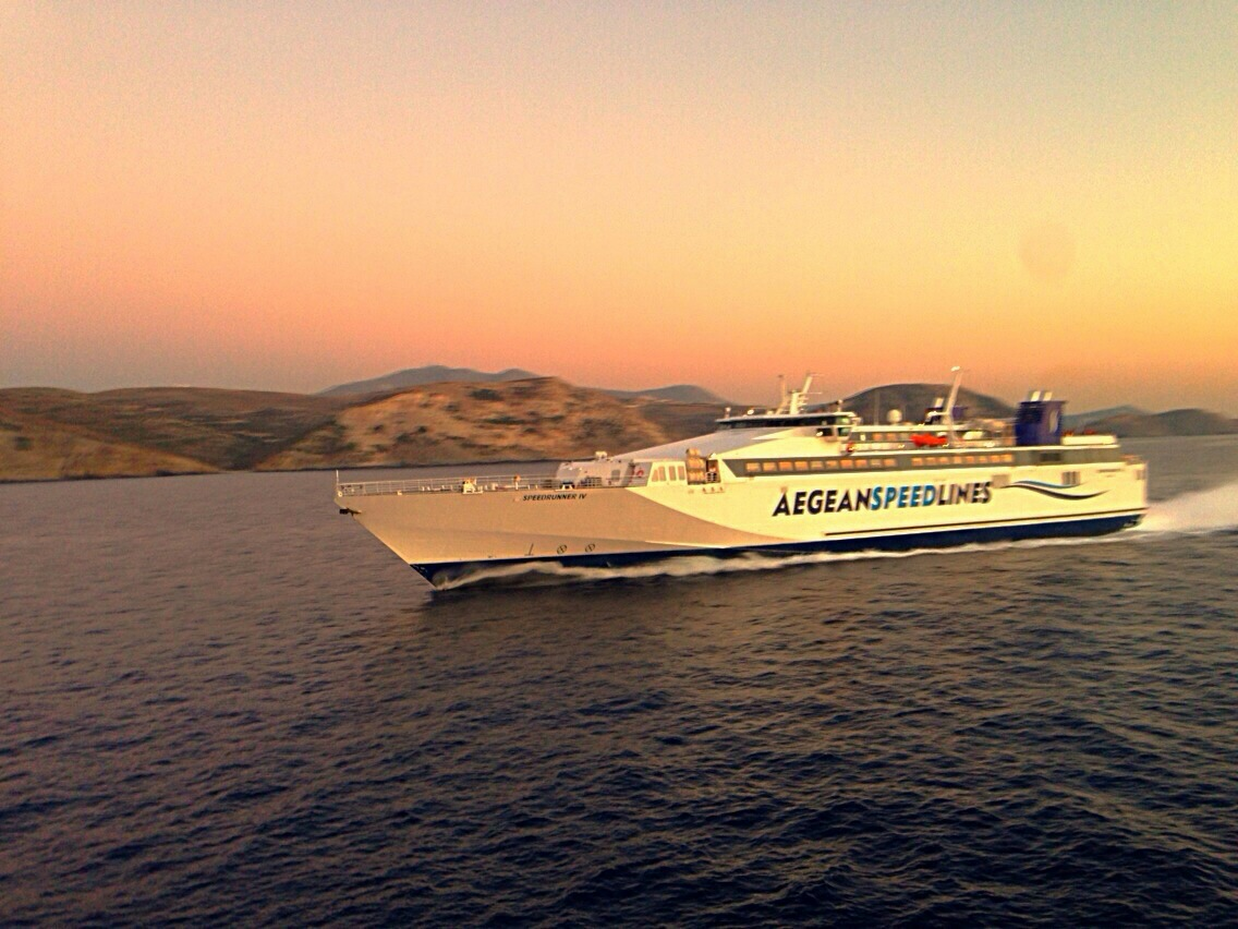 The journey from Piraeus by conventional ferry takes 5-6 hours and the highspeed ferries make the trip in 2-3 hours.